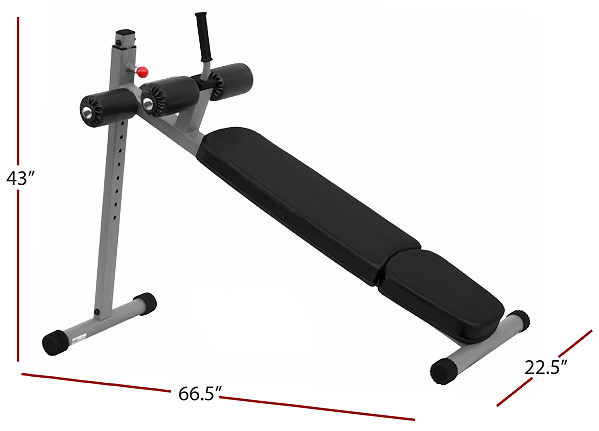 Heavy Duty Adjustable Ab Bench By Xmark Fitness Fitness
