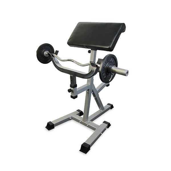 Standing Preacher Curl Bench By Valor Athletics
