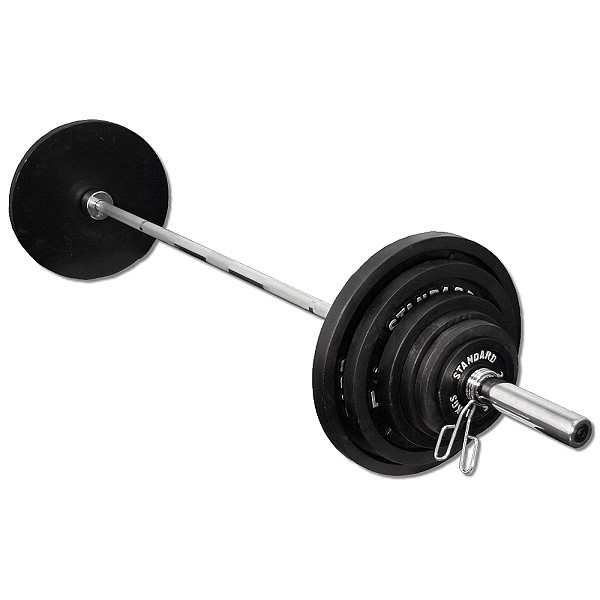 300 Lb Olympic Cast Iron Weight Set Fitness Destination
